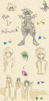 Doodle Dump: 2007-2009 by InuyashaFan4-ever