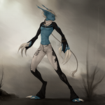 Blue - Commission for Orionvonfox by CharlotteChambers