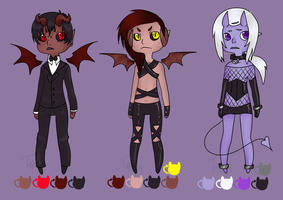 Demon Adopts [CLOSED] by Toppolain