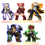 My El-Characters -10/19/14- by Djyoshi25