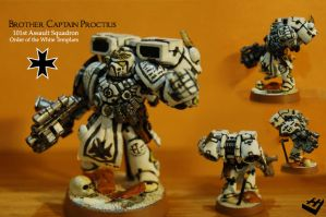 Brother Captain Proctius by Messymaru