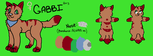 Gabbi Reference 2013 by mossaroo