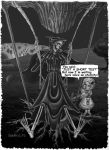 Discworld Comic Death on swing by Catskind
