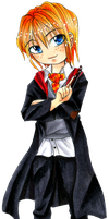 Harry Potter: Ron by Larinelle