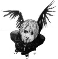 Kurt Cobain - Broken Wings by bdank