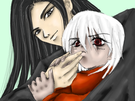 Father and Son by SeleneAlucard