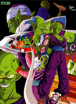 The Namekian Hero, Piccolo by outsiderinbrianza