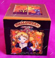 Hand painted Sailor Moon jewel box Halloween by SimonaZ