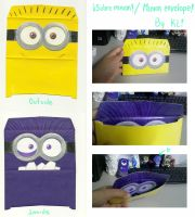 Sobre minion! / Minion envelope! by KN-KL