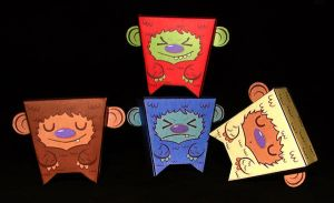 Coffe Critters Family by IgorSan