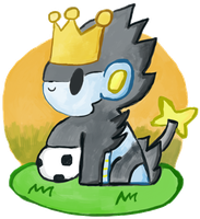 King Of The Pitch by PokeMonandFootball