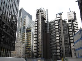 The Lloyds Building by TheMrStick