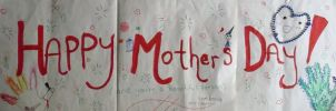 Happy Mothers Day Banner by SUPERSEXYMARSHMALLO
