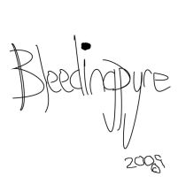 Bleedingpyre CD cover try by bleedingpyre
