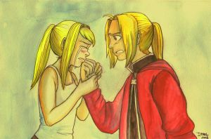 Tears of Happiness- FMA by Irrel