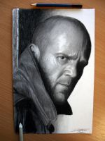 Jason Statham by AtomiccircuS