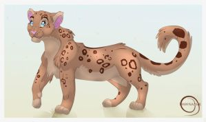 Brownish Leopard by Dawnamir