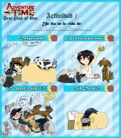 Actividad 1 - New land of Ooo by Kuro----neko