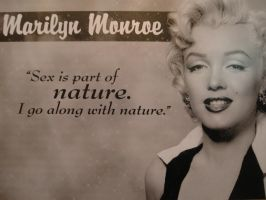 Marilyn Monroe. by asaluiphotography
