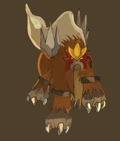 Entei by LizardonEievui13