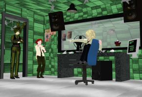 MMD x FNAF 3 Office [NOT FOR DL] by NightWitch14