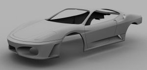 Ferrari F430 wip by Tom-3D