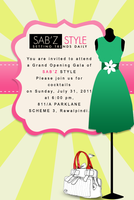 invitation by sarbeen