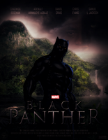 Marvel's BLACK PANTHER - Poster I by MrSteiners