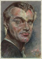 Portrait of  Christopher Nolan by hardcorish