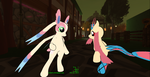 Sylveon and Milotic mods 7 by K4nK4n