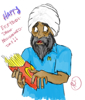 Happpy Draw Mohammed Day by XantheStar