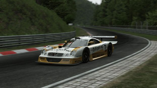 Mercedes-Benz CLK-LM @ Nordschleife by ed12342