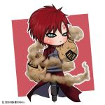 Chibi Gaara from Naruto Shippuden by MistifiedMistress