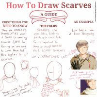 How to Draw Scarves- A Guide/Tutorial by SmartasticalArt