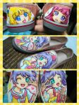 Pripara shoes by oinkwarrior
