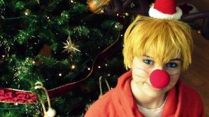 Naruto - The Rednose Reindeer by UnisonCosplayers