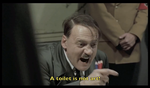 Hitler Reacts to Avant-garde Art by joshthecartoonguy