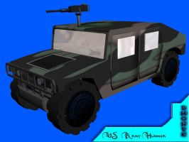 US Army Hummer by dmonuk
