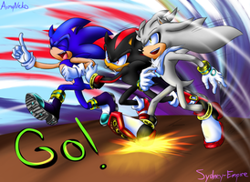 Go-go-go! by Sydney-Empire