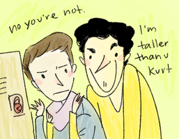 Klaine- Maybe You Should Grow by annit-the-conqueror