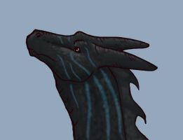 Isarius 2 colored head shot by AguaRush11