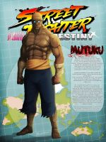 STREET FIGHTER DESTINY: MUTUKU by byrdylicious