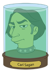 Futurama Carl Sagan by supinternets