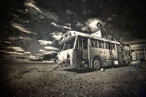 Killer Bus II by CainPascoe