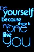 be yourself blue by kralis-dm