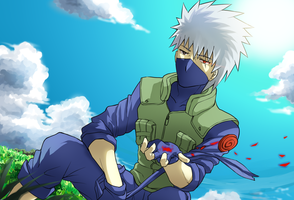 Kakashi by N-Rhapsody