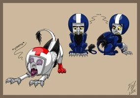 Turbo Time Gryphons by Goldy--Gry