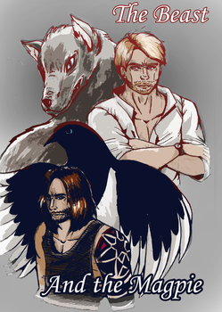 Fic Cover: Beast and the Magpie by WinterGlace