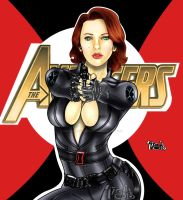 Black Widow by Danthemanfantastic