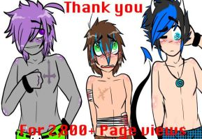 A Shirtless Thank You! by GelatinousStrawberry